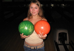 just before the bowling ball incident